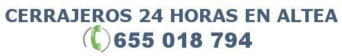 Cerrajeros Altea 24 horas